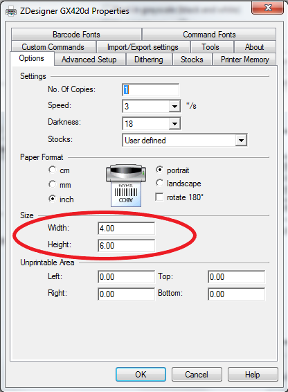 Printing a PDF File Using the ZDesigner Driver